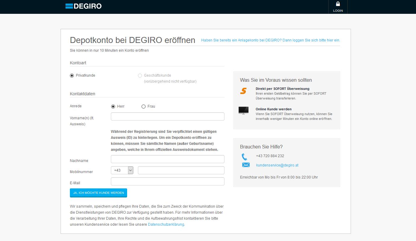 Degiro Depot Im Test 08 2019 Jetzt Vergleichen